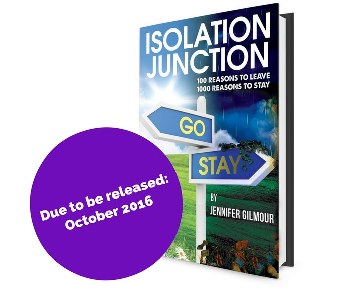I hope that Isolation Junction will raise awareness of domestic abuse and empower women in abusive relationships to seek help.