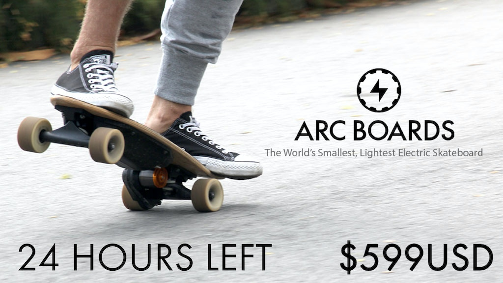 The Most Portable Electric Skateboard in the World project video thumbnail
