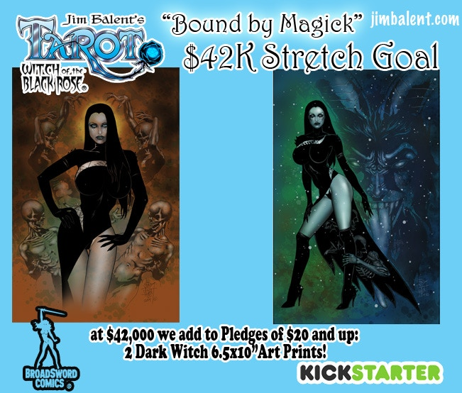 Will This Dark Witch Cast a Spell on your Stretch Goal Goodies?