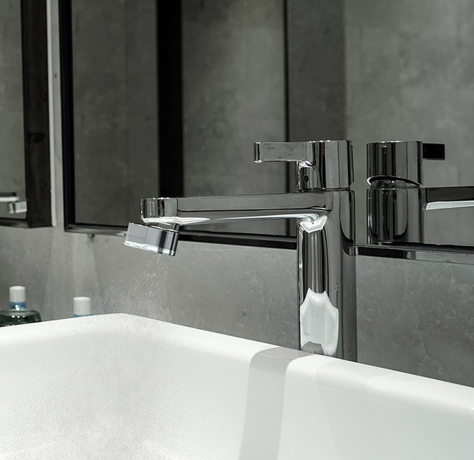 Altered:Nozzle - Same tap  98% less water  by Altered