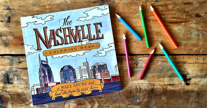 We're creating a premium coloring book that is 100% designed, hand-illustrated and printed in Nashville, Tennessee. Pre-order your copy today!