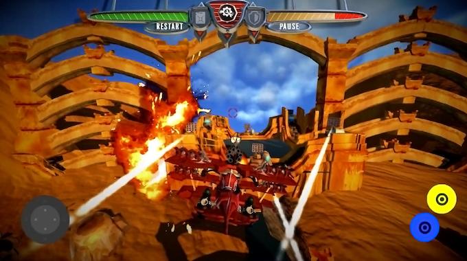 """Level 1 - """"Dry Desert"""", gameplay from mobile version"""