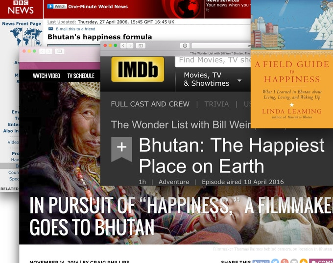 Bhutan's presentation in media is usually very one-dimensional. Westerners often travel to Bhutan with an idea of what they want to see, rarely look beyond the surface.