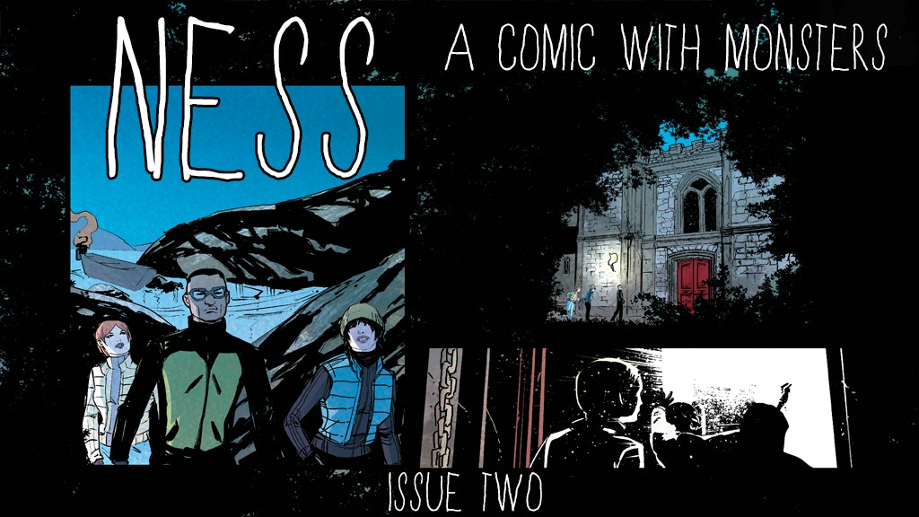 NESS - A Monster Comic, Issue 2 project video thumbnail