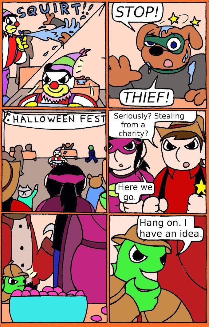 Joel Cramer comics