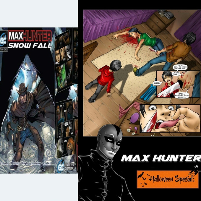 Max Hunter created by Alex Lobato