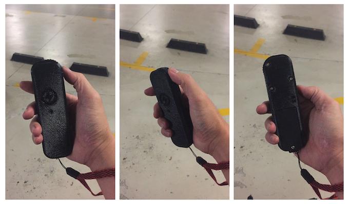 Wireless Remote 3D Printed Prototype