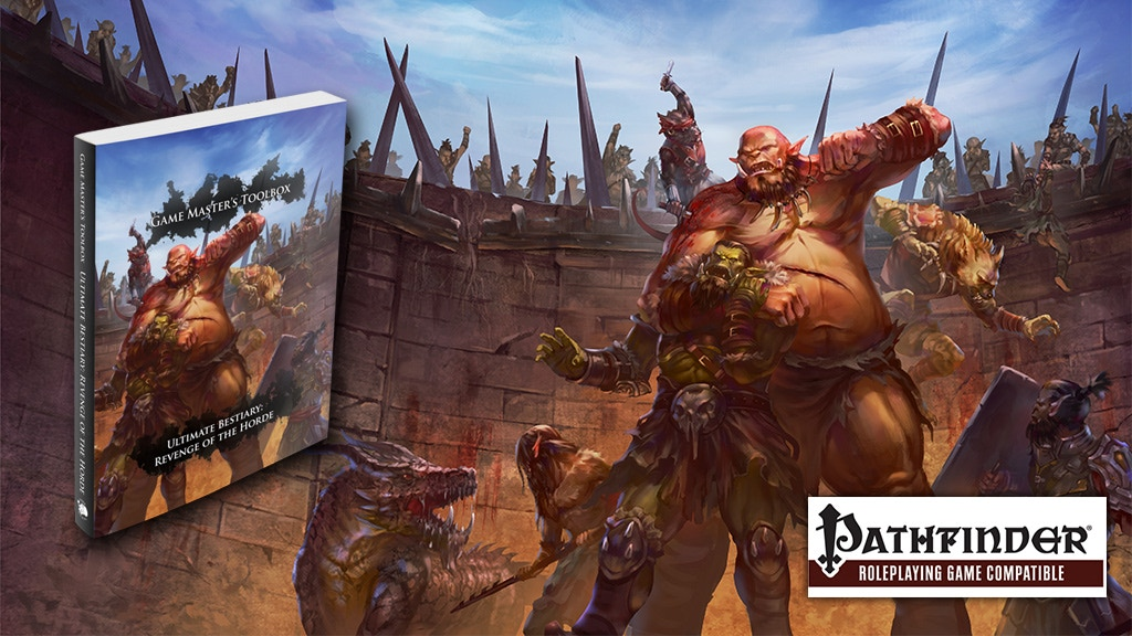 Ultimate Bestiary: Revenge of the Horde for Pathfinder! project video thumbnail