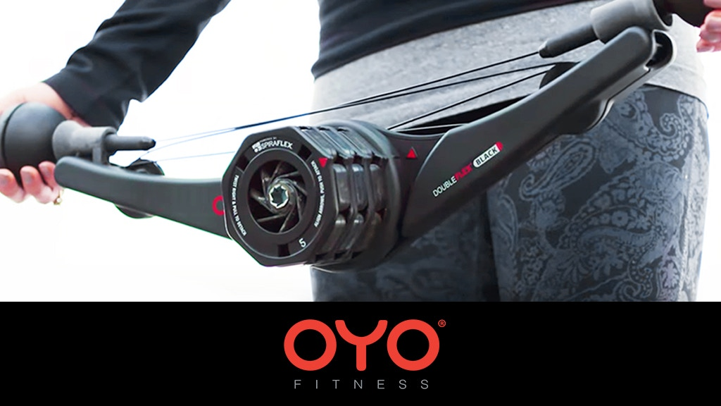 TOTAL BODY PORTABLE GYM - DoubleFlex Black   OYO Fitness project video thumbnail
