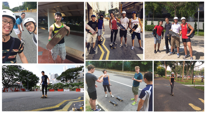 Arc Boarders in Action