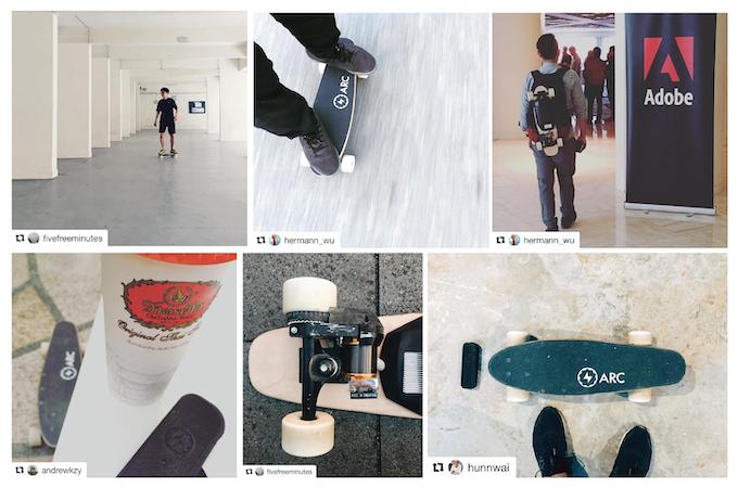 Arc Boarders Instagram Posts