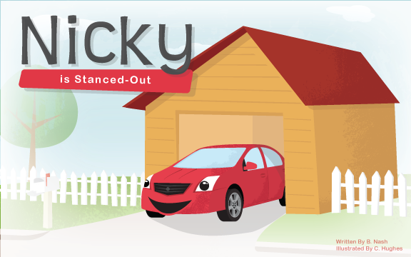 Nicky Is Stanced Out - Front Cover