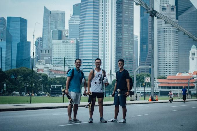Ho Hung Yi, Toh Wei De, Tan Yong Sheng (Photo credits: Calvin Ho)