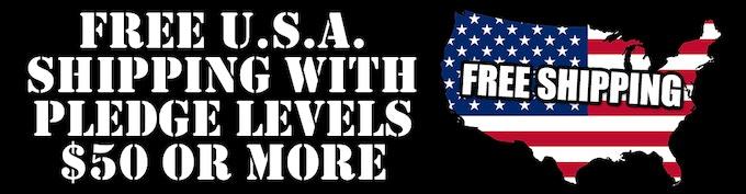 FREE U.S.A SHIPPING