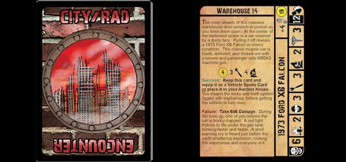 Fallen Land: A Post-Apocalyptic Board Game by Fallen
