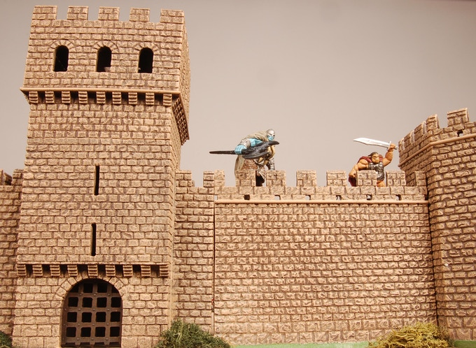 Castle II Kickstarter From Miniature Building Authority By