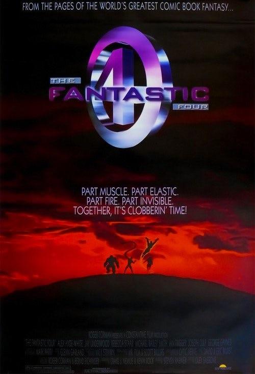There are not many of these rare movie posters for Roger Corman's unreleased Fantastic Four movie.