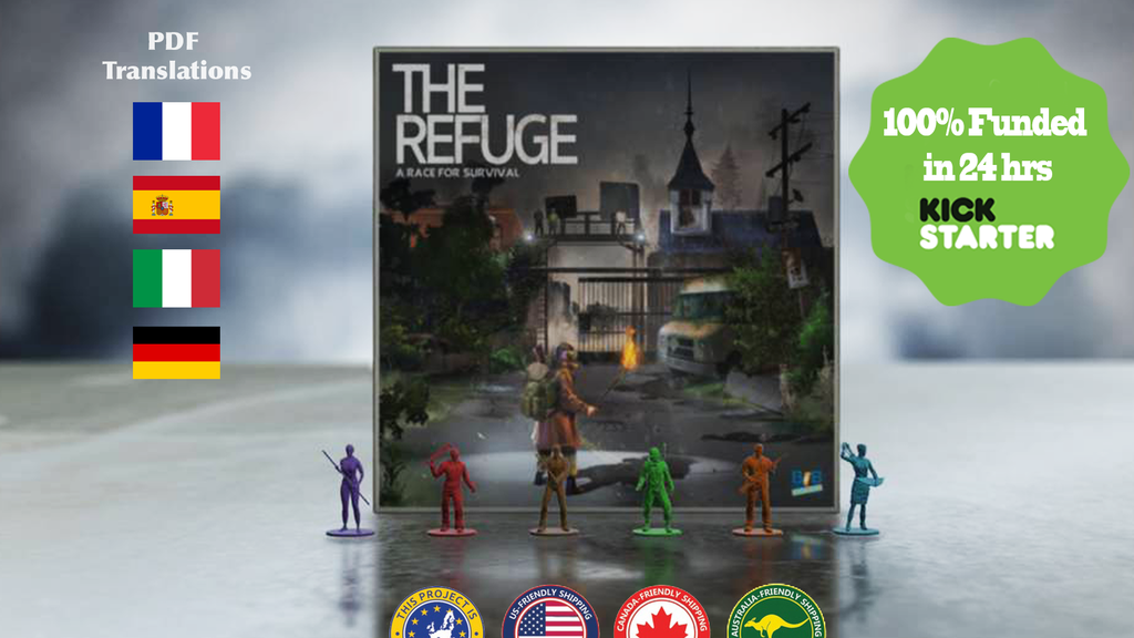 The Refuge: A Race For Survival -Family Friendly Zombie Game project video thumbnail