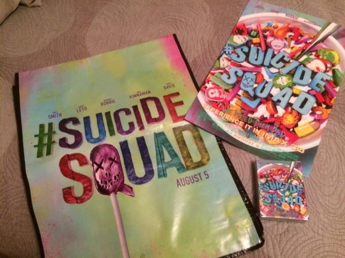 Suicide Squard reward set.