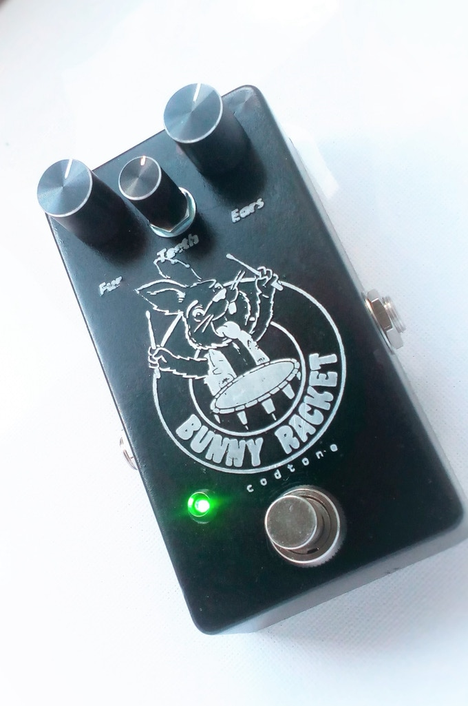 Get fuzzy with the Bunny Racket fuzz pedal by Codtone!