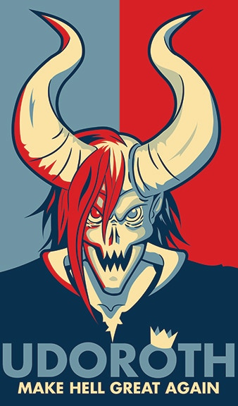 Make Hell Great Again! (Final design may change slightly.)