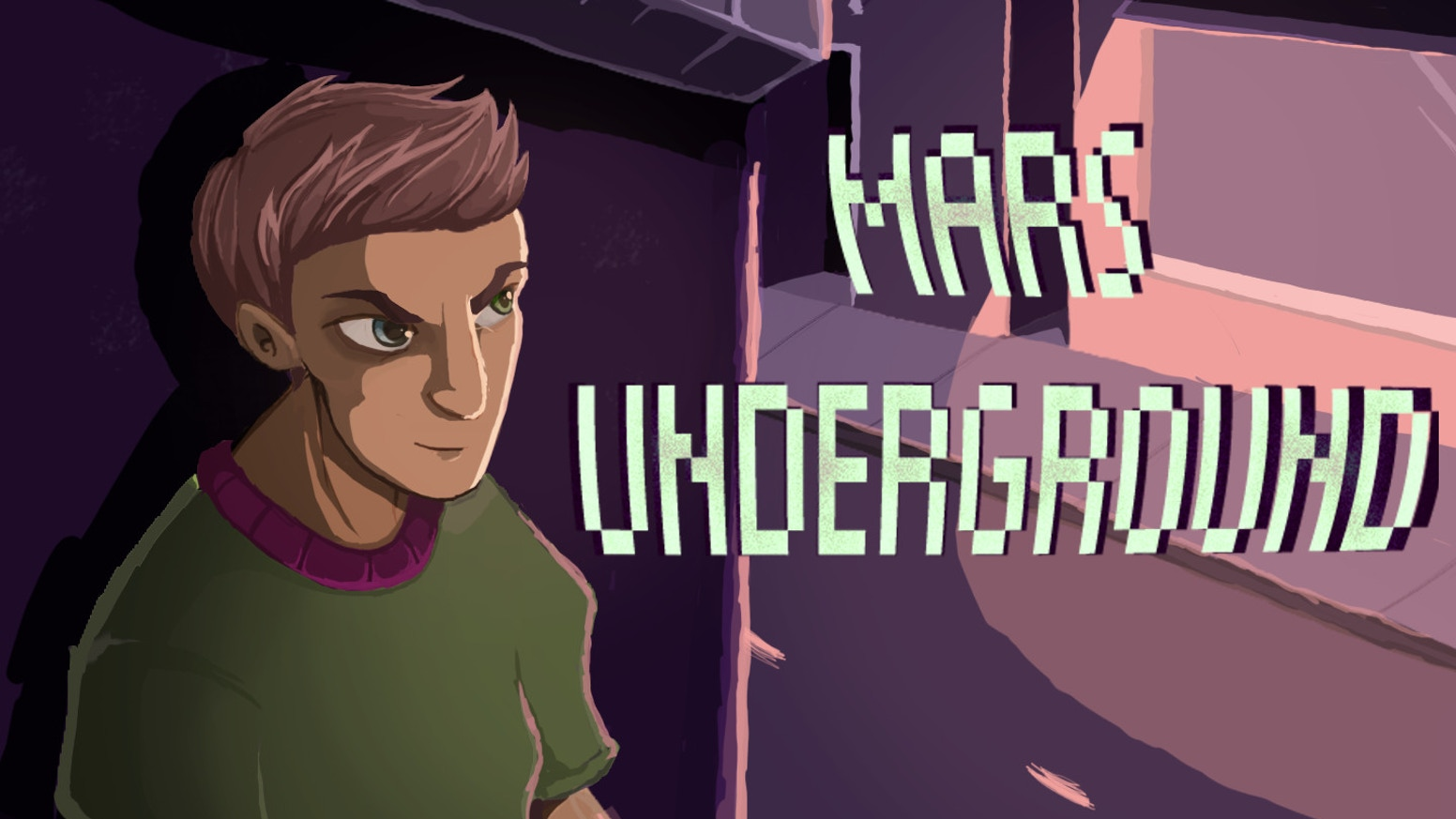 Time loop mystery adventure game. It's Mars' first day at a new school. Except every day is his first day. Every night the world ends.