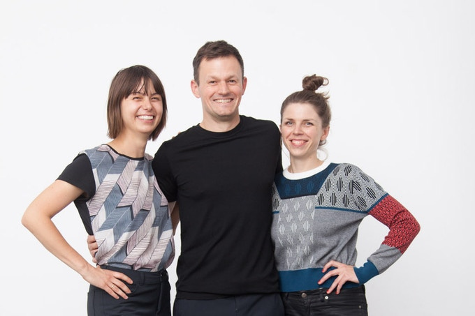 The Zephyr Berlin team: Michelle, Peter and Cecilia