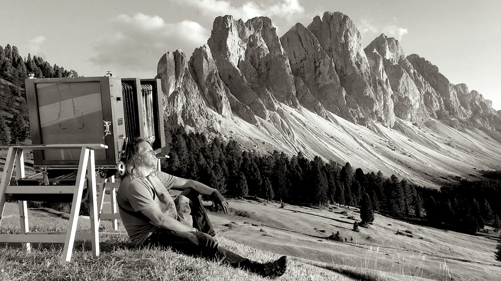 INVISIBLE LIGHT – The Dolomites in ultra large format project video thumbnail