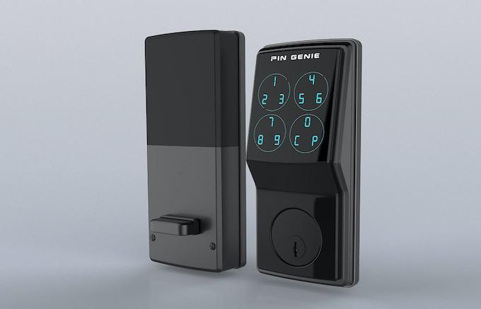 Pin Genie Smart Door Lock By Pin Genie Inc Kickstarter