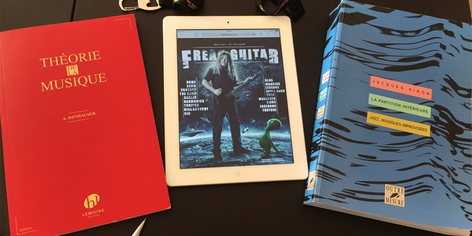 some of the main sources of the GuitarCookBook