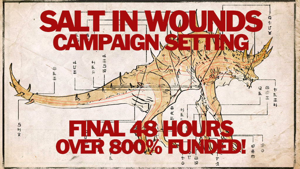 Salt in Wounds Tabletop Setting for 5th Edition & Pathfinder project video thumbnail
