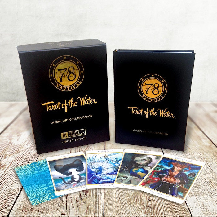 Thank you to our awesome backers, 78 Tarot Nautical Limited Edition deck and box set was published in November 2015, and is now available for sale until the inventory is gone.