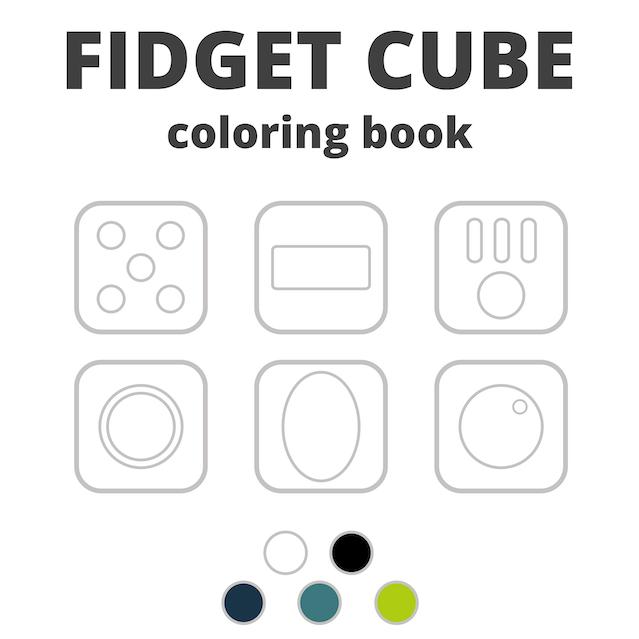 Fidget Cube: A Vinyl Desk Toy by Matthew and Mark