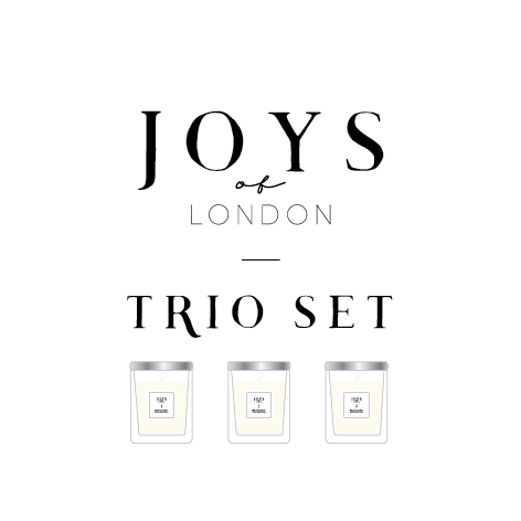 JOYS Trio Packed Candles