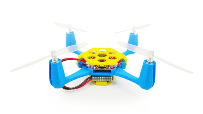 Finished Flexbot Quadcopter