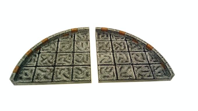 $1500- Large Curve Tiles