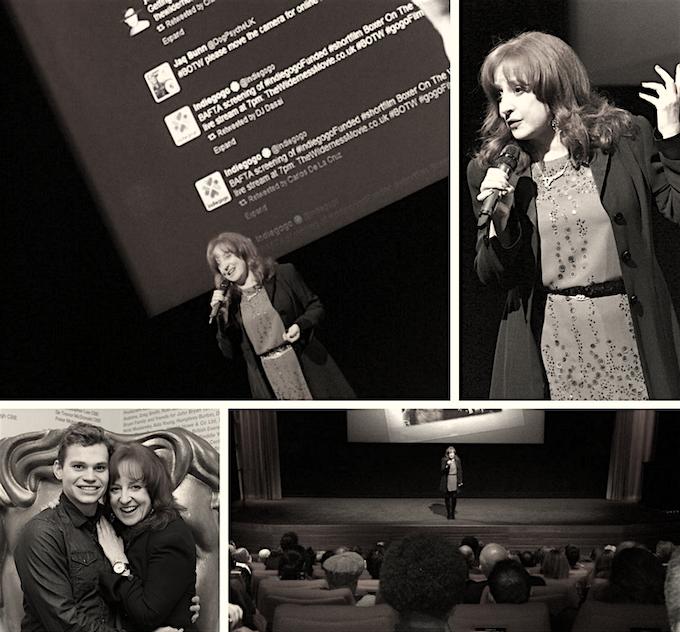 BAFTA screening for Alexandra's short 'Boxer on the Wilderness'