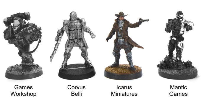 Nexus & Alliance Starter Sets From Icarus Miniatures by