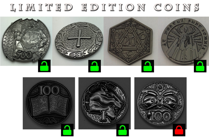 We'ill count BackerKit funds towards unlocking our 7th limited edition coin!
