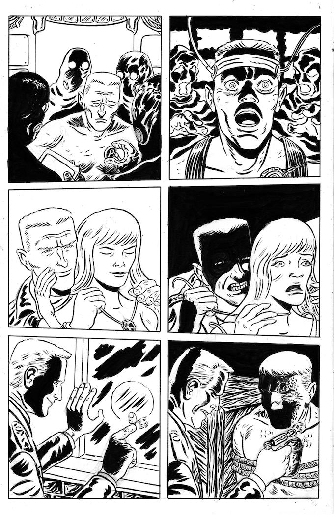 Page 19 original art reward