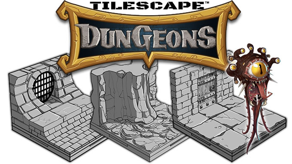 TileScape DUNGEONS project video thumbnail