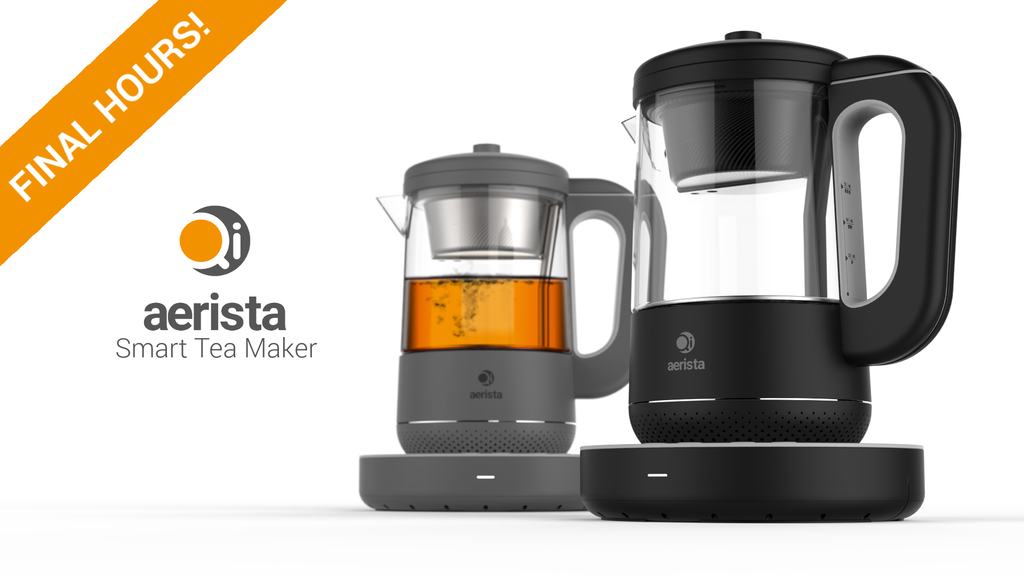 Qi Aerista - Smart Tea Brewer for Every Type of Tea project video thumbnail