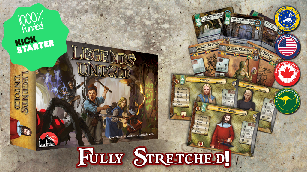 Legends Untold: As deep as an RPG, as fast as a card game! project video thumbnail