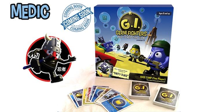 "GIGF ""Flying Ninja"" Sticker, Signed Poster"