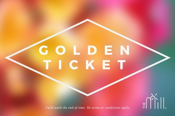 Golden Ticket to Any Event at The Mill