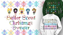 Sailor Scout Christmas Sweater