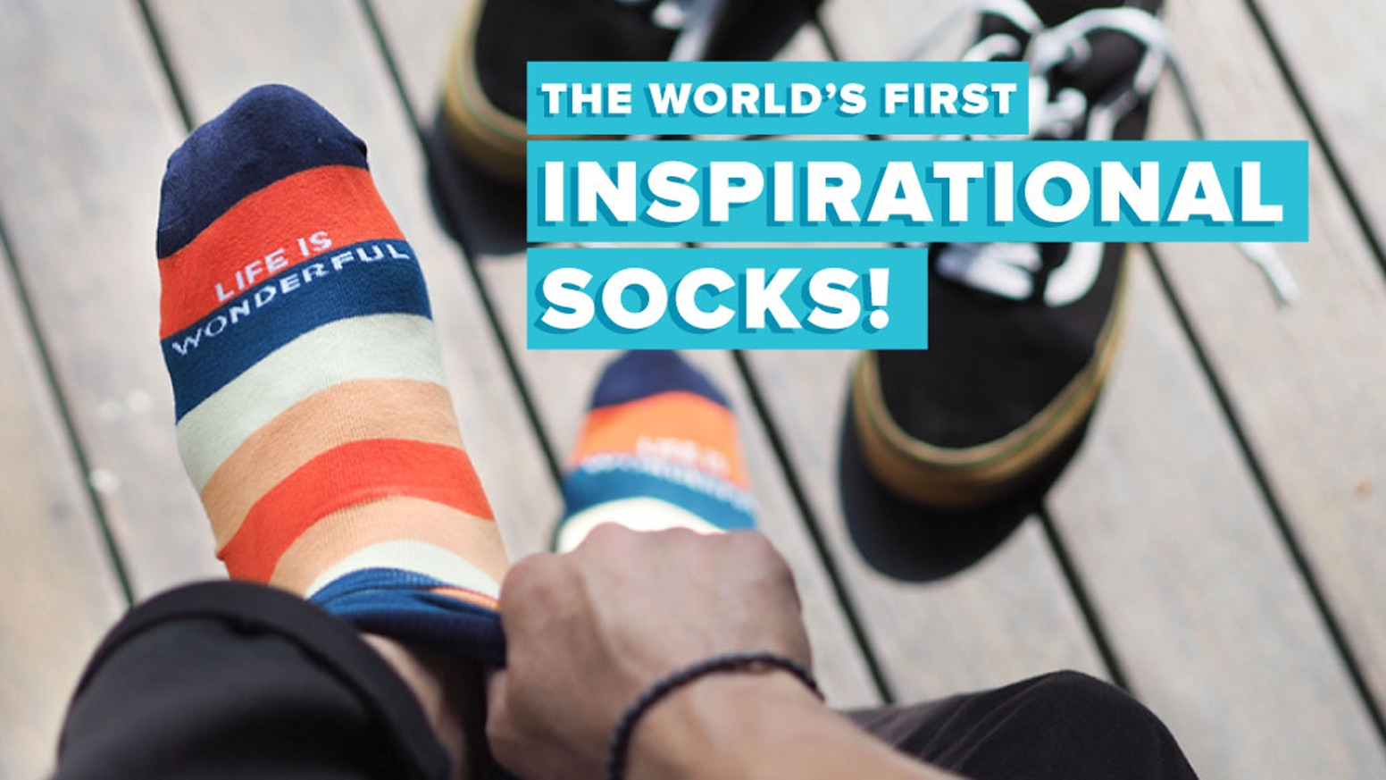 Talking Toes - World\'s First Inspirational Sock Label by Talking ...