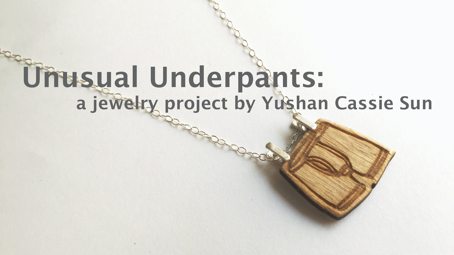 A jewelry line that celebrates and cherishes the delicate fabric we wear everyday. Only we're not hiding them this time around!