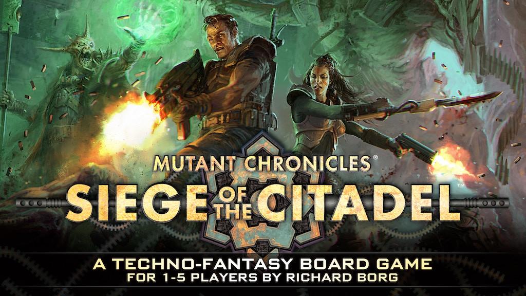 Siege of the Citadel - 2nd Edition Techno Fantasy Boardgame miniatura de video del proyecto