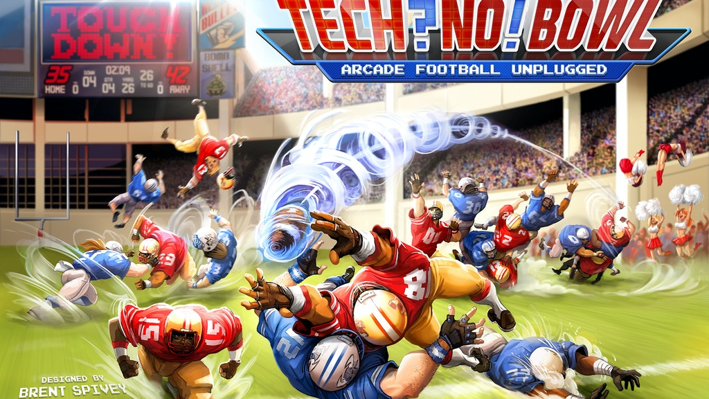 TECHNO BOWL: Arcade Football Unplugged project video thumbnail